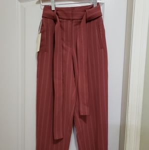 Wilfred Jallade/new tie-front pants/ cidar gold/r